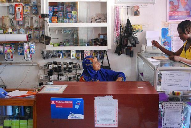 Дилер в офисе Vodafone