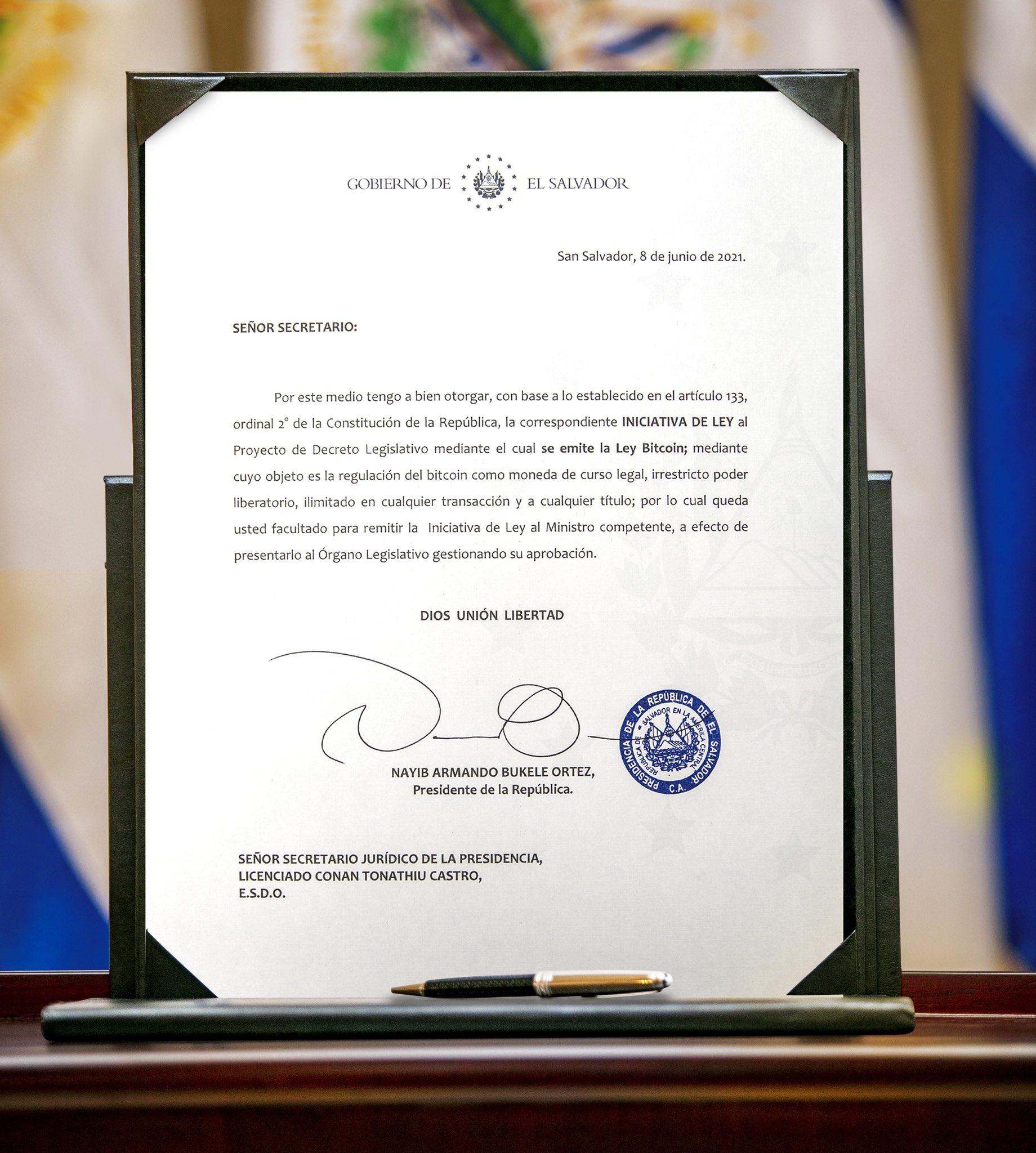 Сальвадор признал Биткоин валютой